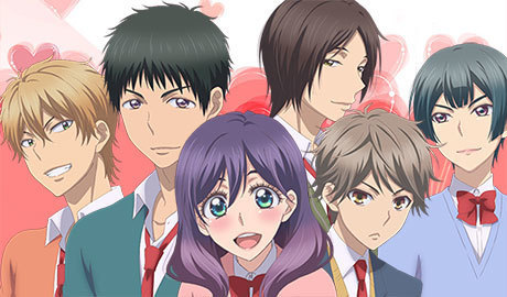 kiss him not me characters anime record